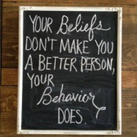 Beliefs and Behavior 01