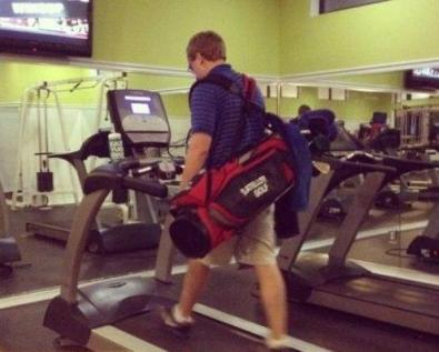 Golf Bag Treadmill