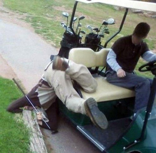 Golf Cart Fail 01